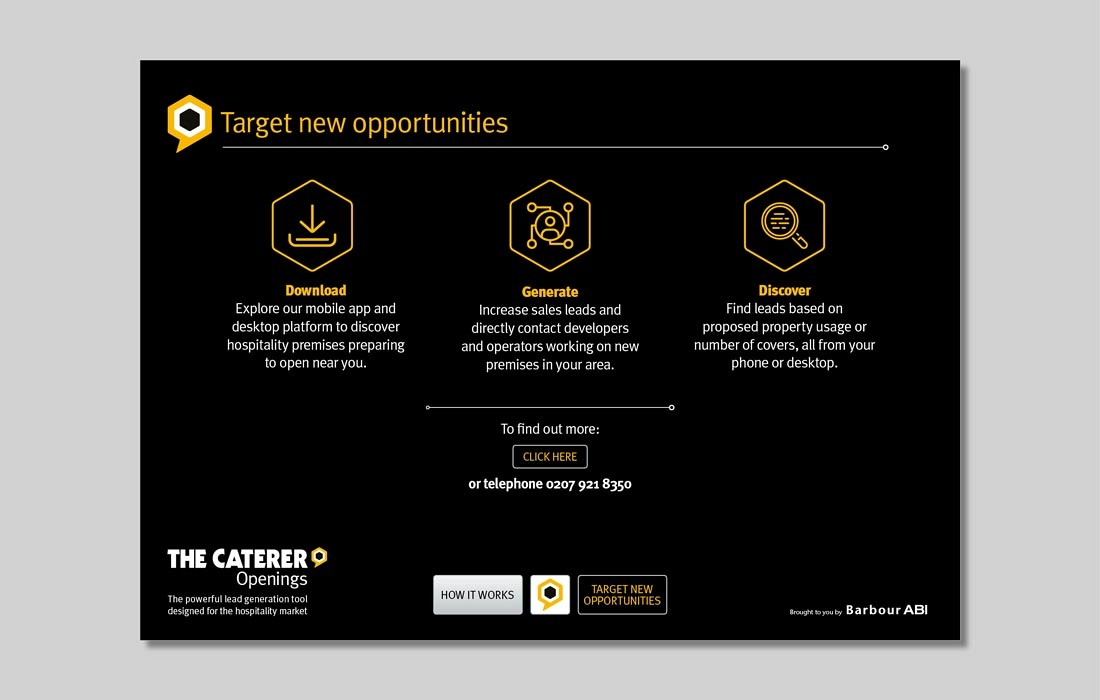 Openings, The Caterer Interactive PDF