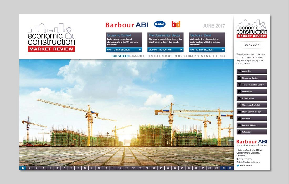 Economic and Construction Market Report